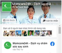 Fanpage Momcare24h