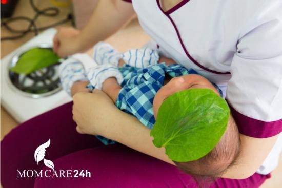 Khuyến mãi dịch vụ Massage và tắm bé sơ sinh T7/2015
