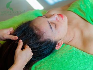 11) Thoa tinh chất dầu bưởi dưỡng tóc, giảm gãy, rụng