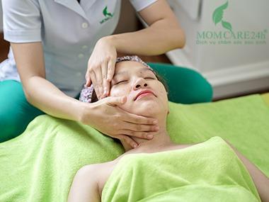 14) Massage mặt chuyên sâu nâng cơ, sản sinh Collagen