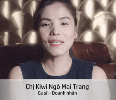 Clip cảm nhận của Ca sĩ Kiwi Ngô Mai Trang