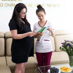 CA SĨ NHẬT KIM ANH sử dụng Dịch vụ Chăm sóc Mẹ sau sinh