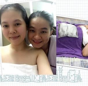 Chị Trang sử dụng Gói săn chắc sau sinh