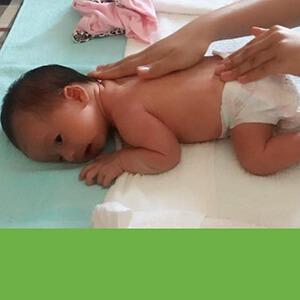 Chị Phương sử dụng dịch vụ Massage và Tắm Bé