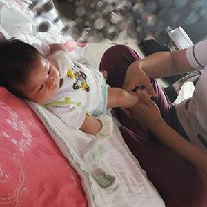 Chị Hương sử dụng dịch vụ Massage và Tắm Bé