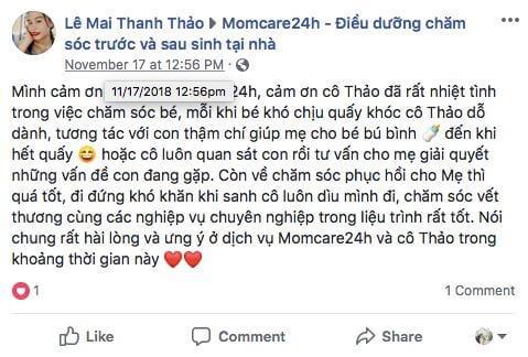 Chị Lê Mai Thanh Thảo