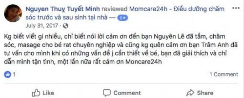 Chị Nguyễn Thụy Tuyết Minh - Quận 7