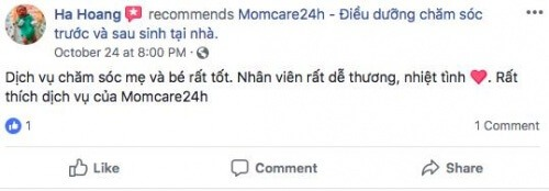 Chị Hoàng Ngọc Hà - Quận Tân Phú