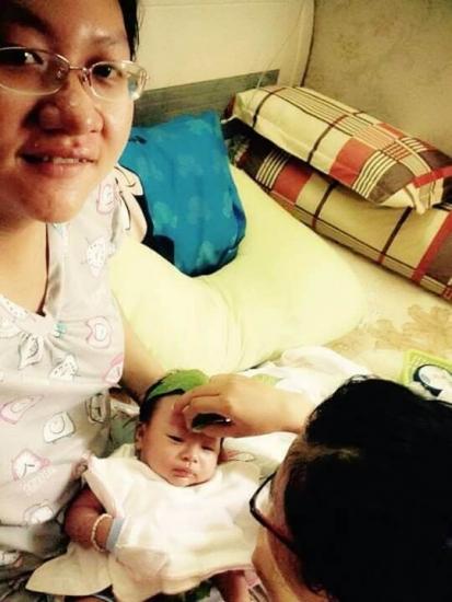 Chị Dinh - Sử dụng DV Massage & Tắm bé