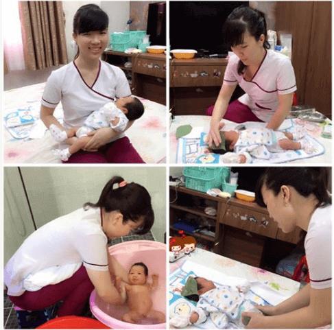 Chị Linh - Q.Gò Vấp - Sử dụng DV Massage & Tắm bé