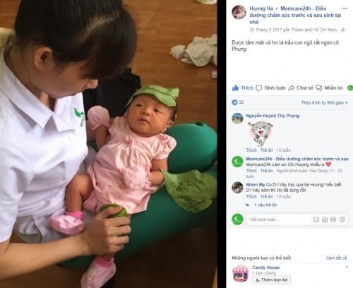 Cảm nhận của Chị Hương Hà sử dụng dịch vụ chăm sóc bé sau sinh