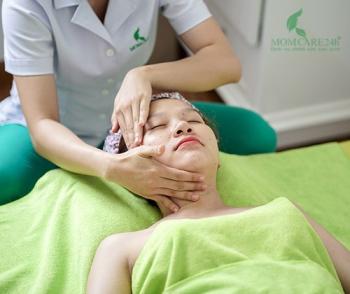 Massage mặt chuyên sâu nâng cơ, sản sinh collagen