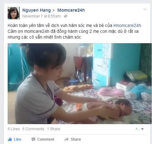 Chi Hang - Thu Duc - momcare24h