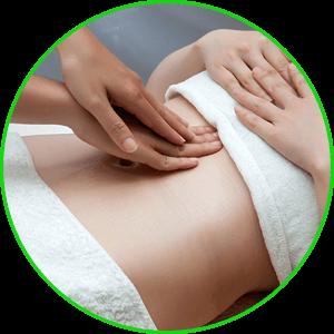 massage bụng chuyên sâu