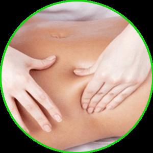 massage bụng
